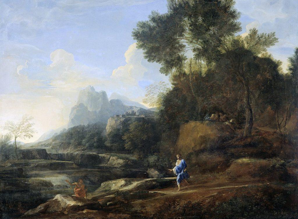 FAD MAGAZINE Gaspard Dughet: Italian Landscape, 1638-40 - before corruption by Gordon Cheung