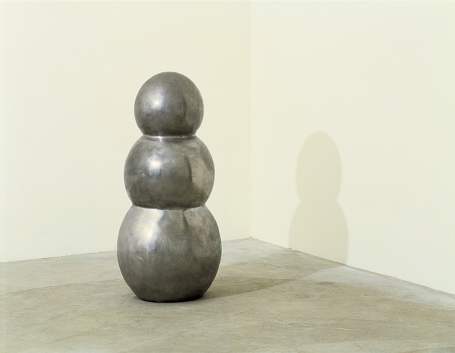 Robert Therrien, No title, 1985. Tin on bronze, 87 x 41.3 cm (34¼ x 16¼ in). Courtesy of Mary Patricia Anderson Pence.