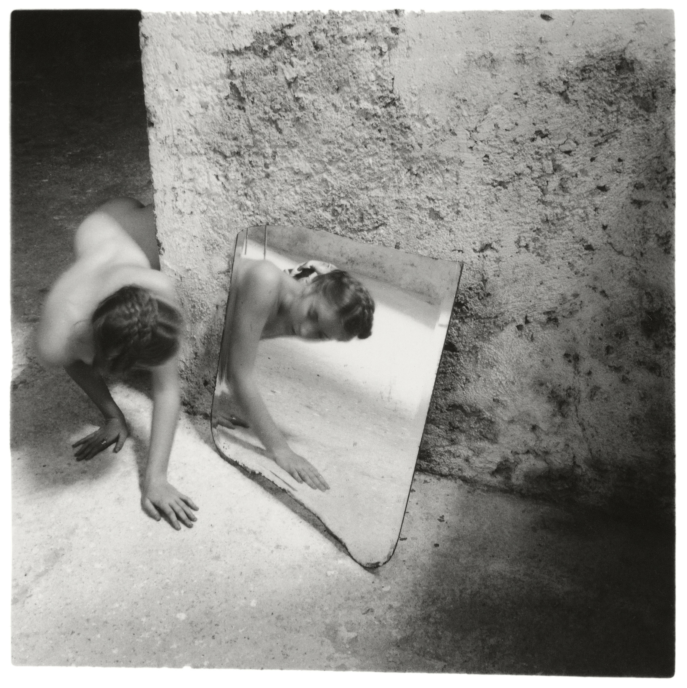 Francesca Woodman, Self-Deceit # 1, 1978 © Betty and George Woodman NB: No toning, cropping, enlarging, or overprinting with text allowed.