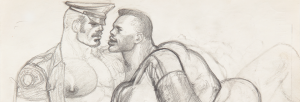 Tom of Finland, Untitled (Preparatory Drawing), 1989. Courtesy of David Kordansky Gallery, Los Angeles, CA