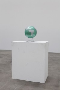 Globe and:with Pedestal - Darren Bader - Blum and Poe