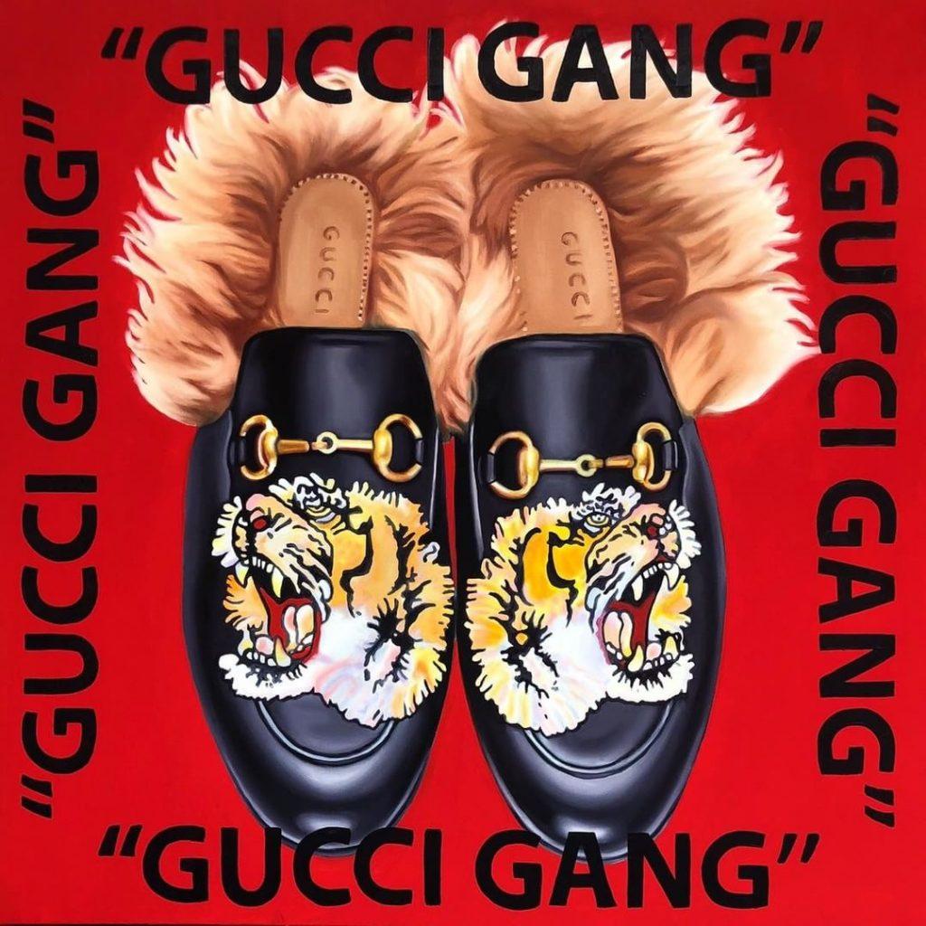 The Kaplan Twins gucci_gang