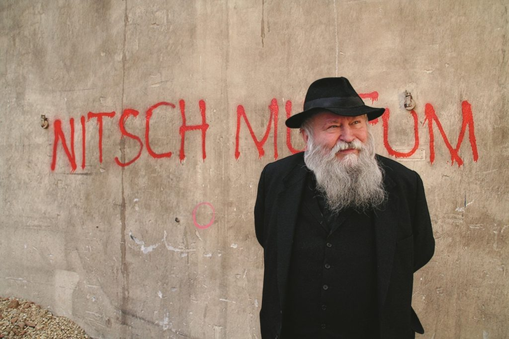 Portrait Hermann Nitsch