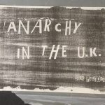 Jamie Reid, Anarchy In The UK, 1976, Courtesy John Marchant Gallery