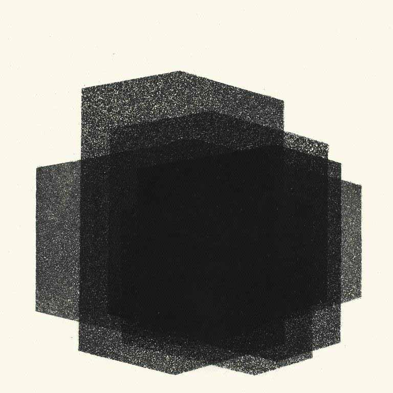 MATRIX IX, 2016 Aquatint on Fabriano Tiepolo 290 gsm paper 35 x 35 cm