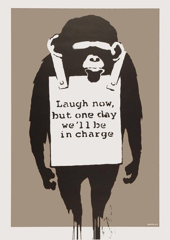 Banksy Monkey