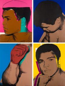 Muhammad Ali Andy Warhol