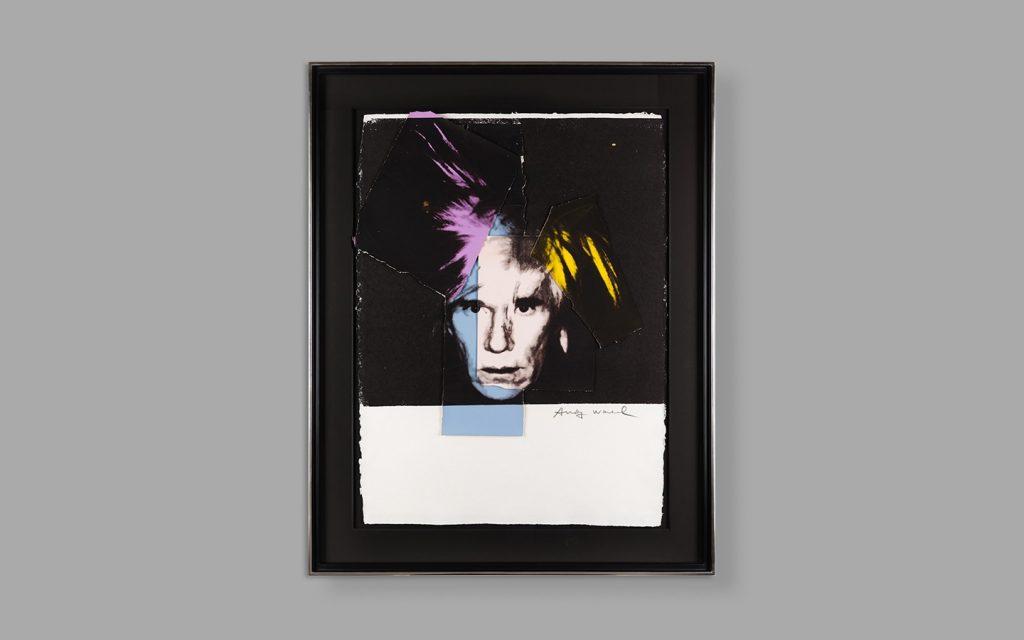 Warhol self portrait