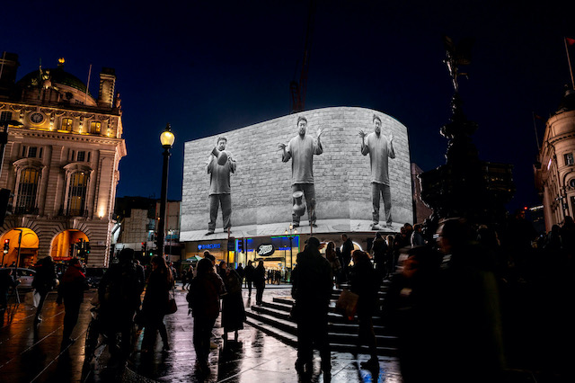 New digital art curated platform on iconic Piccadilly Circus screen launches with Ai Weiwei commission