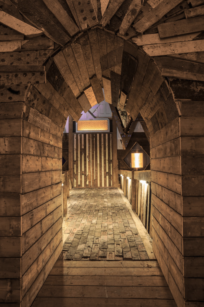 Theaster Gates, Entrance to Sanctum © Theaster Gates FAD Magazine