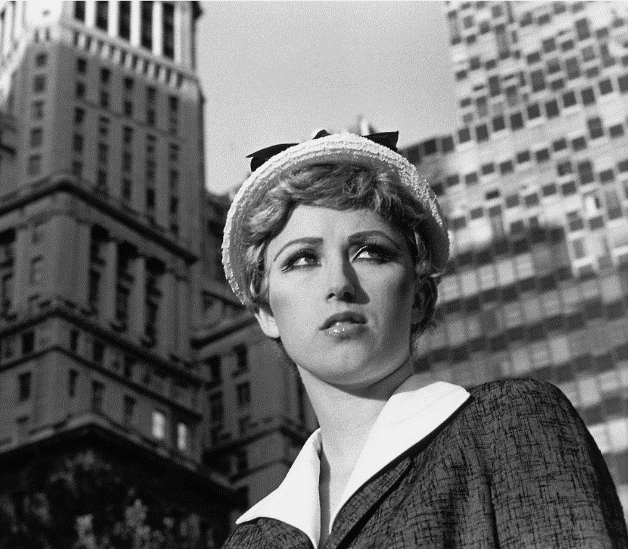 Cindy Sherman Untitled Film Still #21 1977 Gelatin silver print 20.3 x 25.4 cm Courtesy of the artist and Metro Pictures,