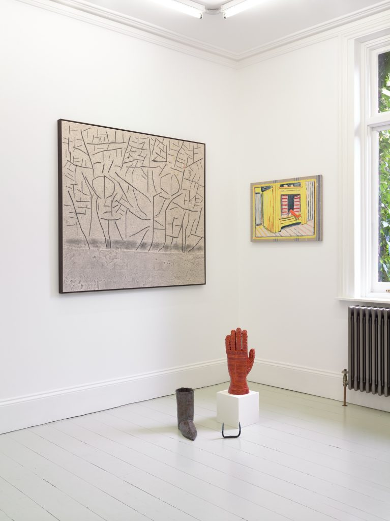 Install shot, New Raw Green - 15th August Sim Smith