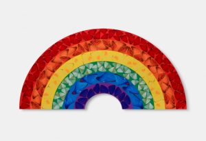 Damien Hirst's Butterfly Rainbow