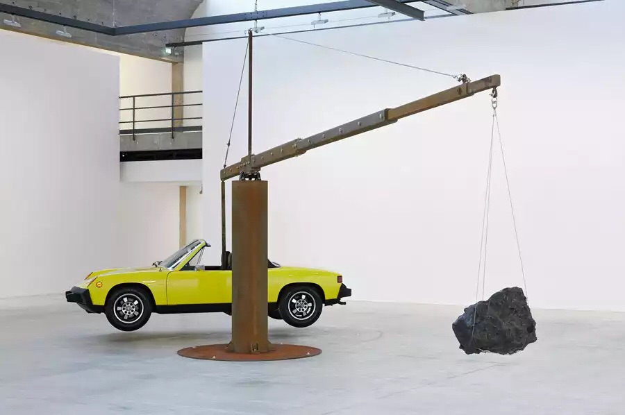 Chris Burden Porsche with Meteorite, 2013 FAD magazine