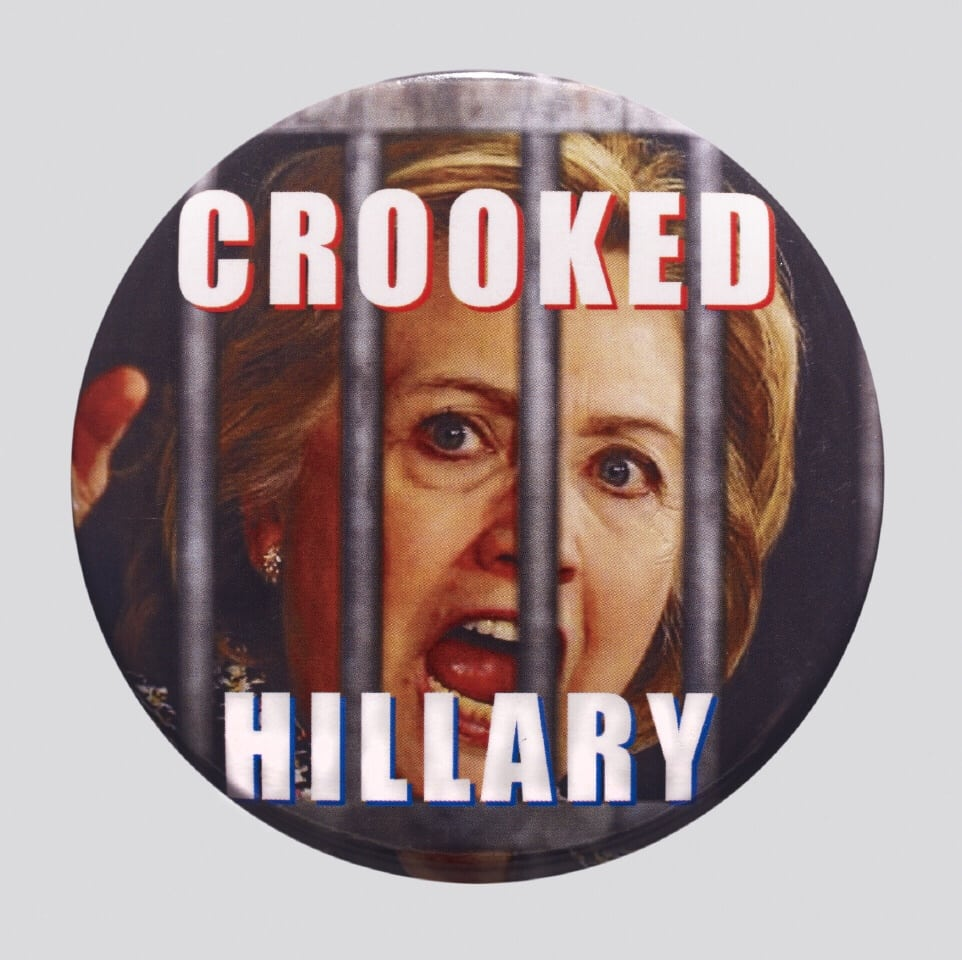 Crooked  Hilary  badge    ©  The  Trustees  of  the  British  Museum  FAD MAGAZINE