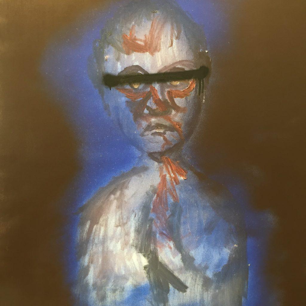 Self-portrait, Sidney Nolan 1986