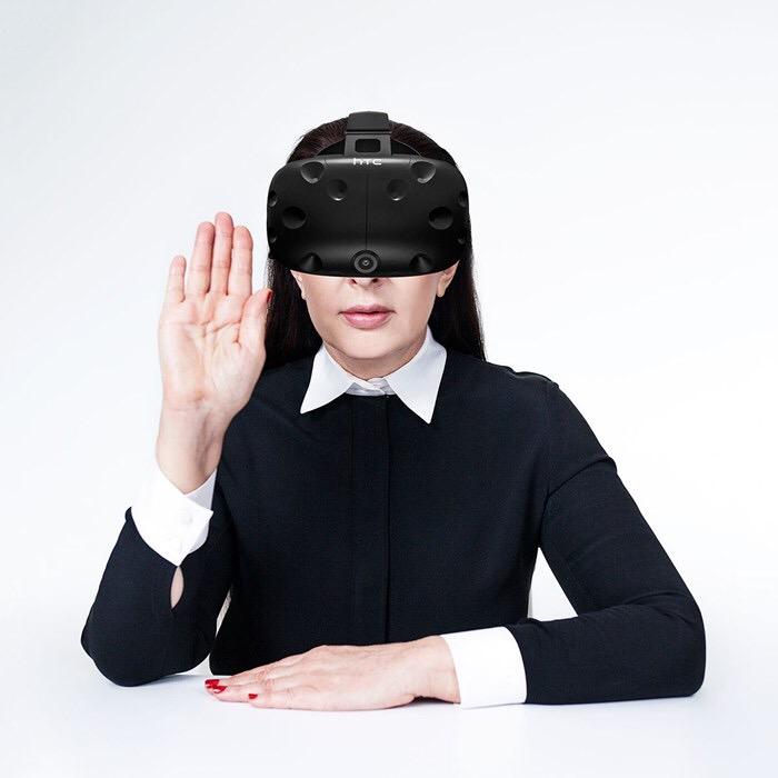 Marina Abramovic on Acute VR platform