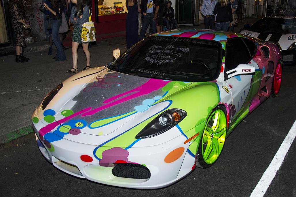 Artpics Luxury Cars Pimped Up By Artists Fad Magazine