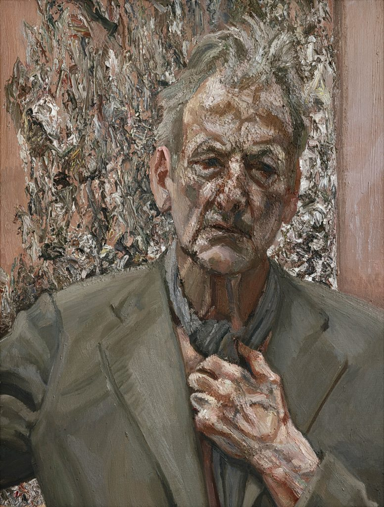 Self-portrait, Reflection, 2002 Oil on canvas, 66 x 50.8 cm Private collection © The Lucian Freud Archive / Bridgeman Images FAD magazine
