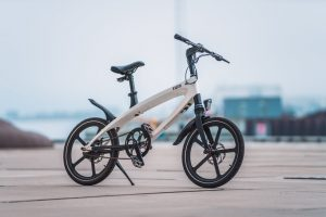 We love this BMX influenced electric solar powered bike.