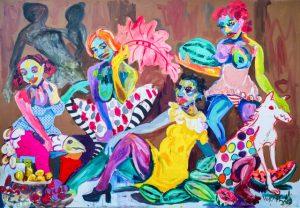 Wycliffe Mundopa The Garden of Earthly Delights, 2020 Kristin Hjellegjerde Gallery FAD MAGAZINE