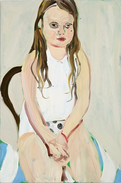 Chantal Joffe Bella in a Vest , 2016 Victoria Miro
