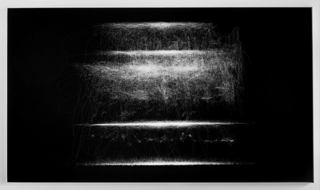 Susan Morris  Motion Capture Drawing [SPDR]: Facing View, 2012  Bartha Contemporary