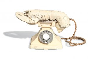 Dali white lobster phone