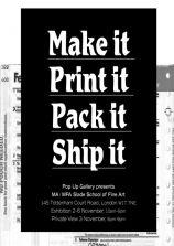 makeitprintitpackitshipit-poster
