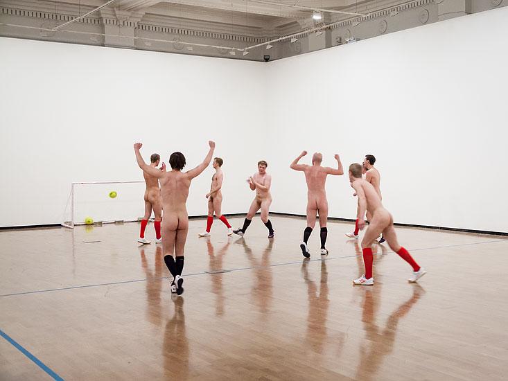 Eddie Peake, Touch, 2012, Royal Academy Schools