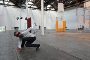 material_rearranged_to_be__by_Siobhan_Davies_Dance_at_Tramway,_performer_Matthias_Sperling_photo_Tim_Nunn