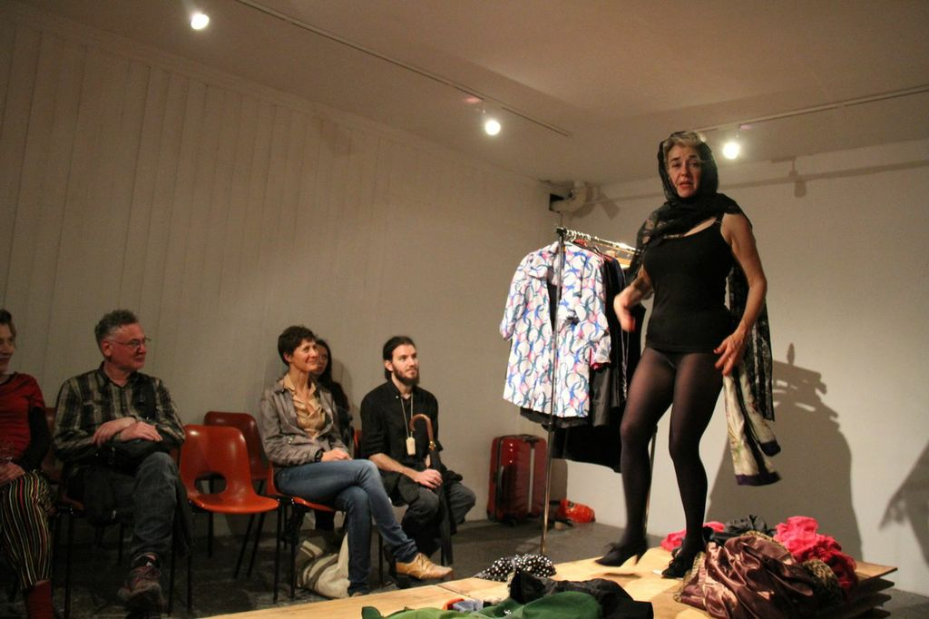 Performance in Zenobio: Marcia Farquhar and The Girls in Venice by Beverley Knowles