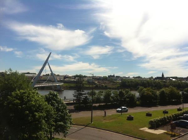 peace bridge 2 LegenDerry 2013 – Part Two: The UK City of Cultures Celebrations