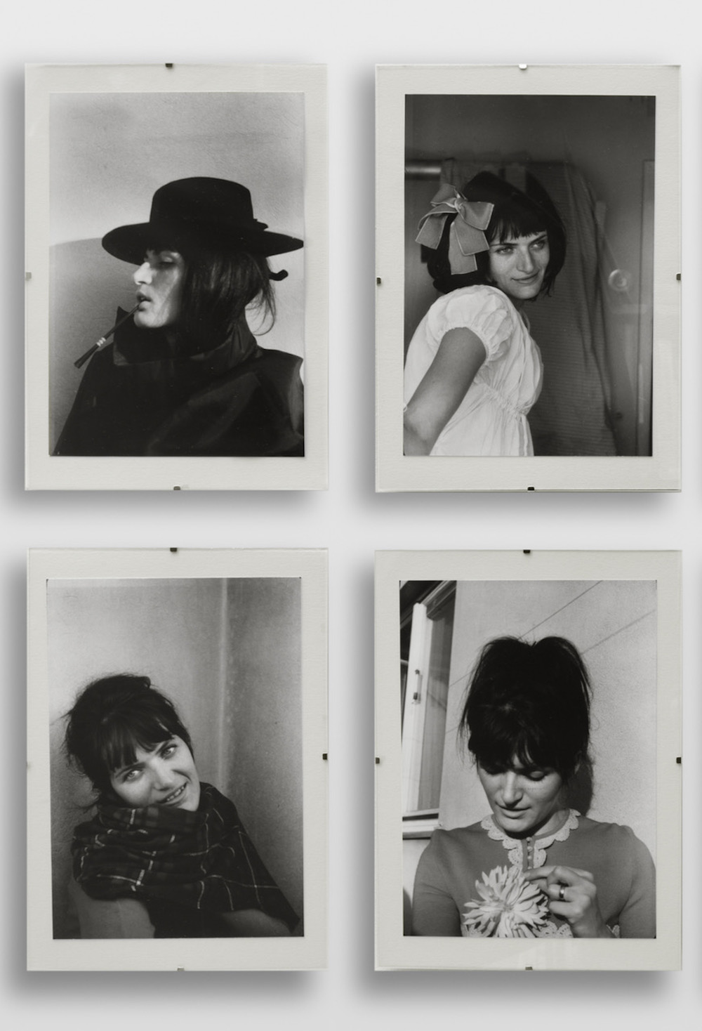 Renate BERTLMANN, Verwandlungen (Transformations), 1969/2013 (Detail). 53 black and white photographs reprint on baryt paper. Each: 25 x 17 cm. Edition of 3 + 1 AP. Courtesy: Richard Saltoun, London FAD Magazine