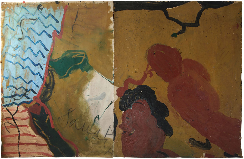 rose-wylie-bird-and-worm