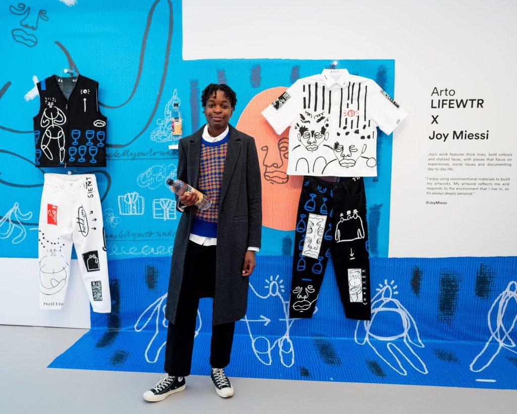 Arto LIFEWTR, Joy Miessi Frieze London: 2019 FAD magazine