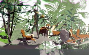 Artist Ian Cheng has created a VR 'Pokeman Go like' installation for The Liverpool Biennial