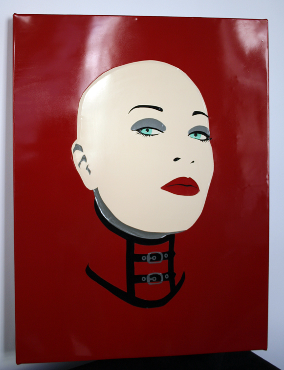 FAD Q&A: Michelle Mildenhall the UK's only latex artist.
