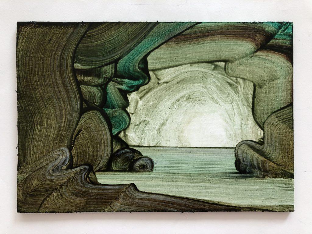FAD MAGAZINE Mimel Thompson small green cave