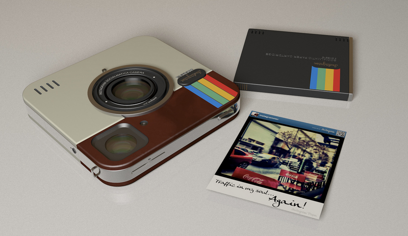 new : polaroid's instagram camera which prints pos! - fad magazine