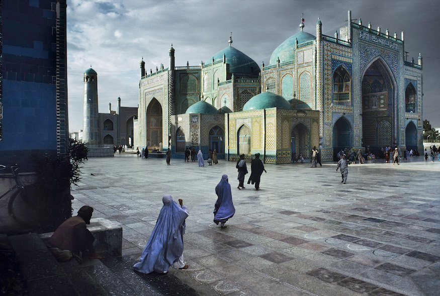 00214_06, Hazrat Ali Mosque, Mazar i Sharif, Afghanistan, 1992, AFGHN-10164NF7. Salat at Blue Mosque in Mazar-Sharif, Afghanistan, 1992. MAX PRINT SIZE: 40x60 Hazrat Ali Mosque final print_HERMITAGE final print_Zurich final print_Beetles and Huxley Fine Art Print retouched_Sonny Fabbri 05/28/2014