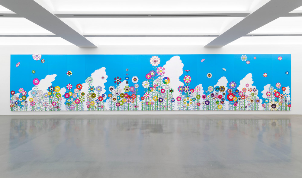 Takashi Murakami is having his first solo show in mainland China