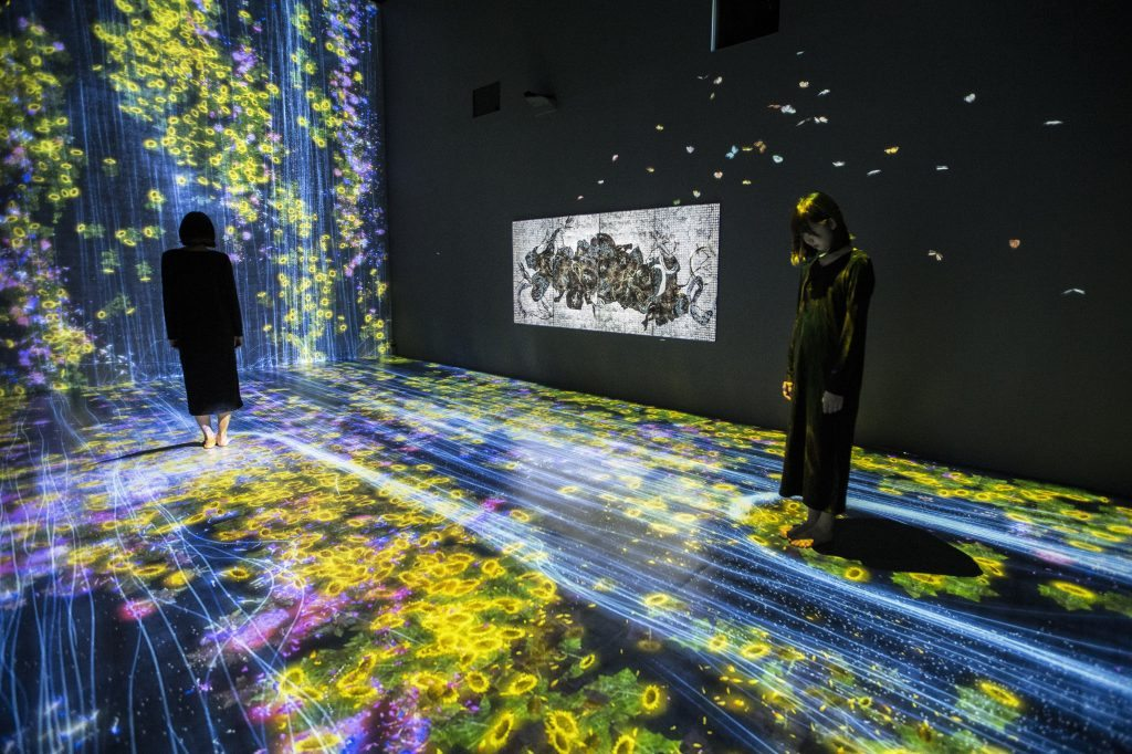 teamLab Transcending Boundaries
