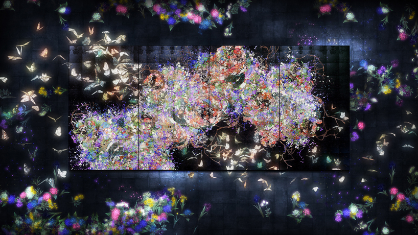 teamlab-saatchi-gallery-flutter-of-butterflies-beyond-borders-designboom-02