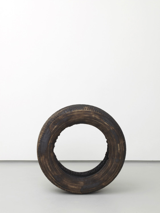 Untitled (Tyre) by Rowan Smith. Courtesy the artist and Tyburn Gallery