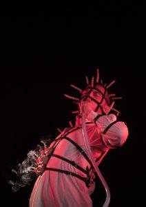 Exhibition explores ventilation systems, prosthetics, Polish folklore and science fiction.