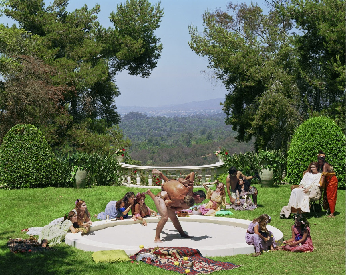 """Eleanor Antin,  A Hot Afternoon from """"The Last Days of Pompeii"""", 2002. Chromogenic print, 78.7 x 63.5 cm Edition 1 of 3. Copyright the artist Courtesy of Richard Saltoun Gallery"""