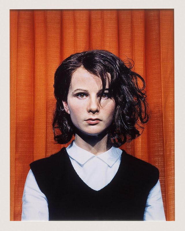image: Gillian Wearing, Self Portrait at 17 Years Old (2003) framed c-type print