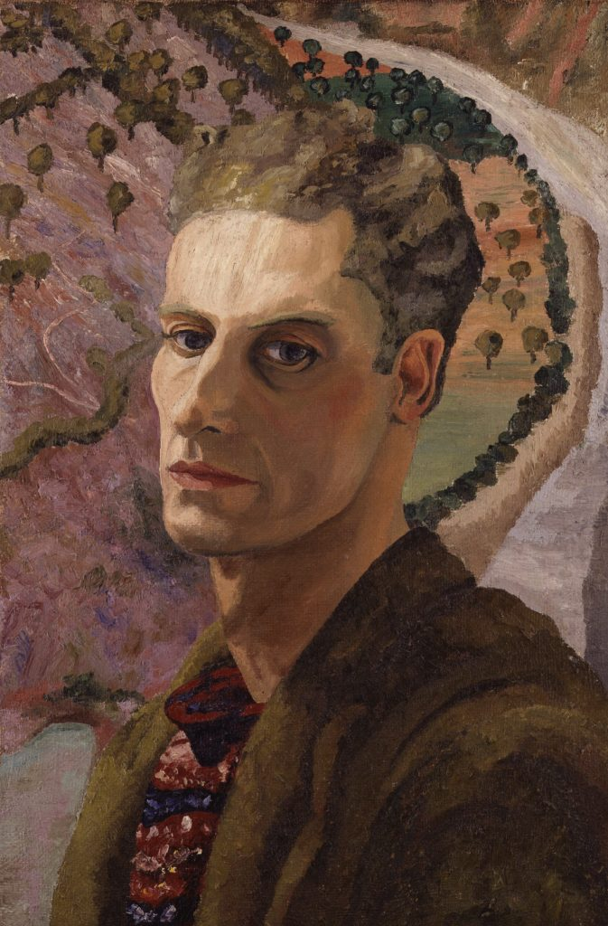 mage: Sir Cedric Morris, Cedric Morris, c. 1930, Oil on canvas, © National Portrait Gallery London 5407, courtesy the Cedric Morris Estate