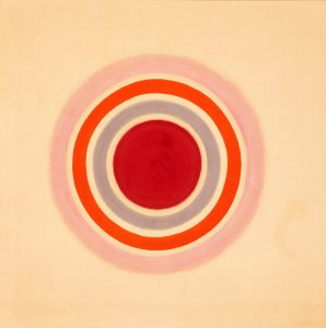 Kenneth Noland, Spring Call, 1961. Acrylic on canvas. 82.5 x 82.5 inches. 209.6 x 209.6 cm. FAD MAGAZINE